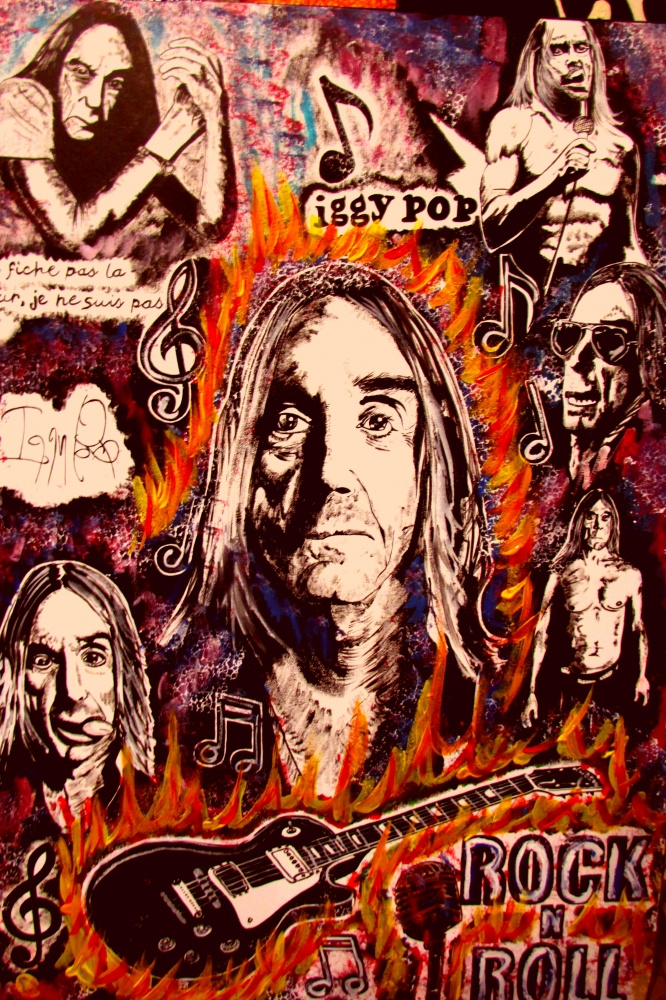 Iggy Pop by JUD
